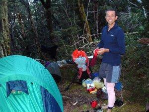 Camping en route to Cascade Saddle