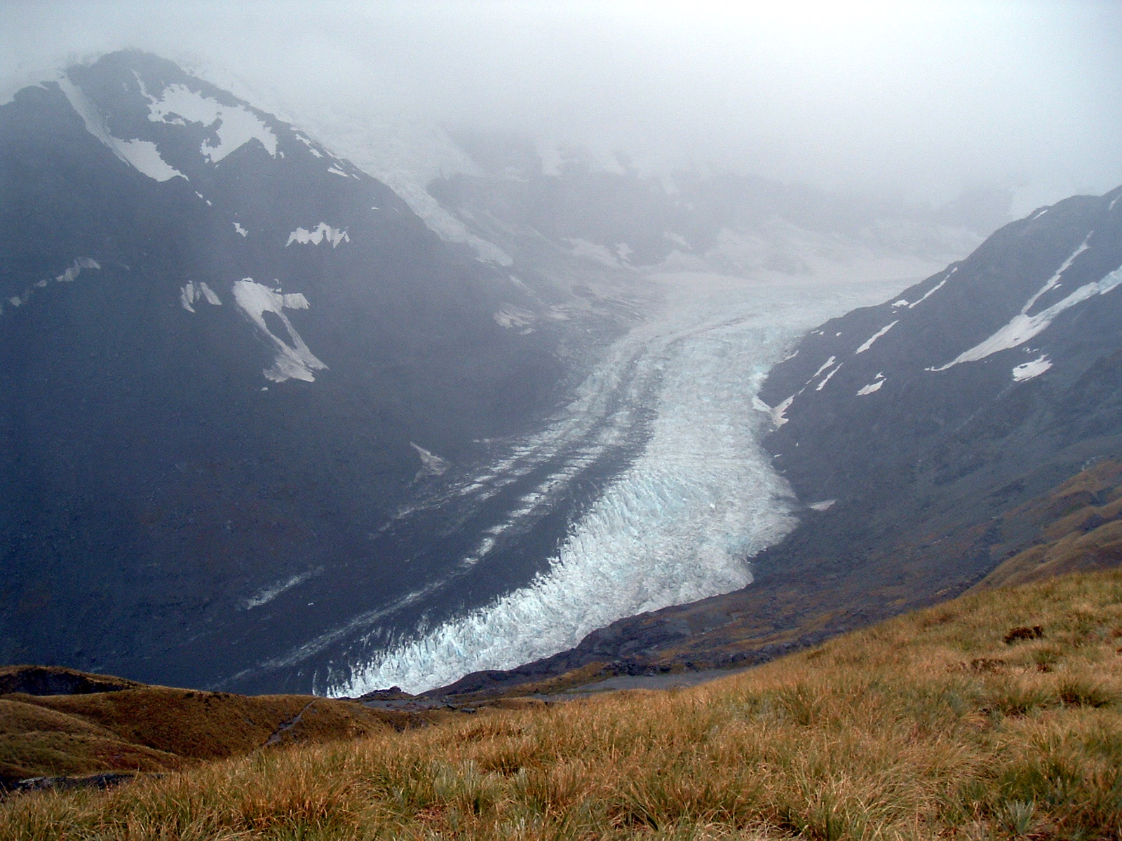 Southern tip of the Dart Glacier