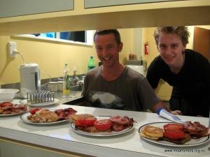 Delicious bacon...