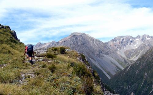 Approaching Toaroha Saddle