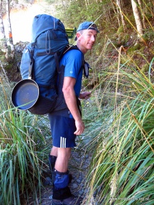 Heading up to Hopeless Hut.