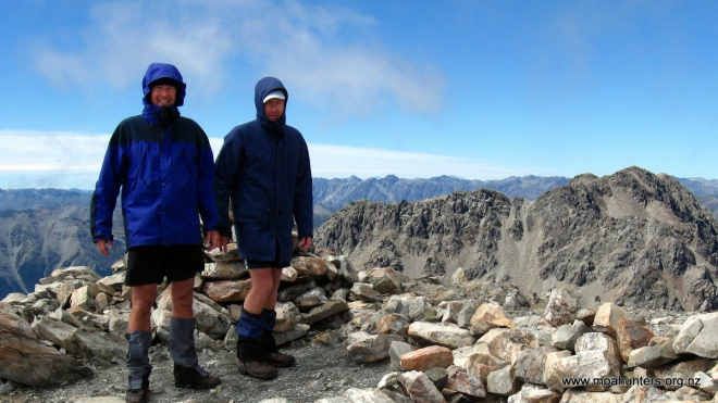 Awesome views from the summit of Angelus Peak.