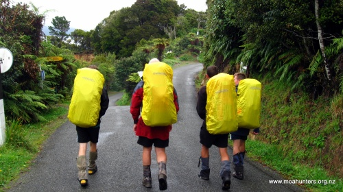 With backpacks at maximum weight we walked into Oban