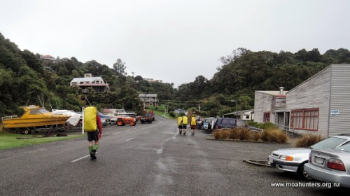 Light rain greeted us in Oban