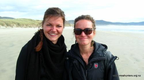 Inge and Katrina