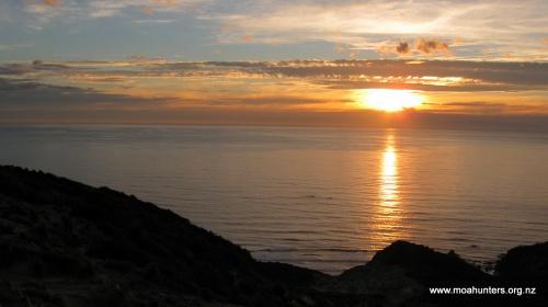 Sunset at Big Hellfire