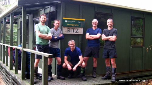Ready to depart the 'Ritz', East Ruggedy
