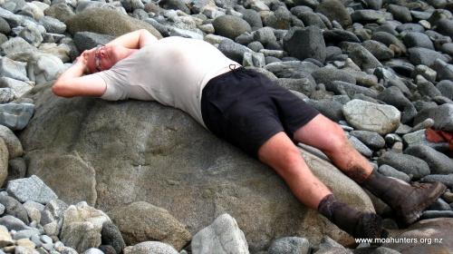 A beached Chris