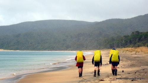 Murray beach, beautiful even in the rain...