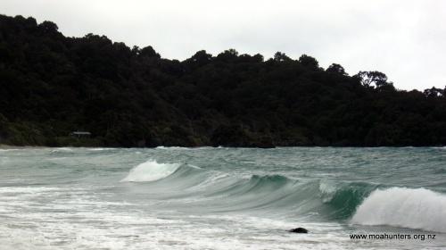 Stormy Big Bungaree bay