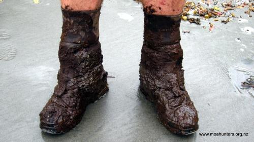 Mud, glorious Rakiura mud!